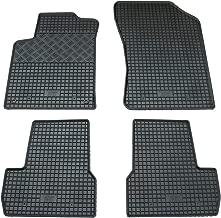 2013 6-tlg 7-Sitzer schwarz Fussmatten Gummifussmatten Citroen C4 Picasso ab Bj