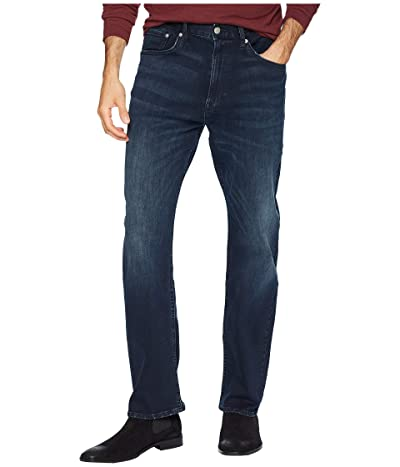Calvin Klein Jeans Relaxed Straight Fit (Boston Blue/Black) Men