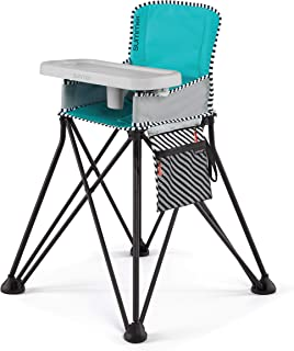 Summer Pop 'n Sit SE Highchair, Sweet Life Edition, Aqua Sugar Color - Portable High Chair for Indoor/Outdoor Dining – Spa...