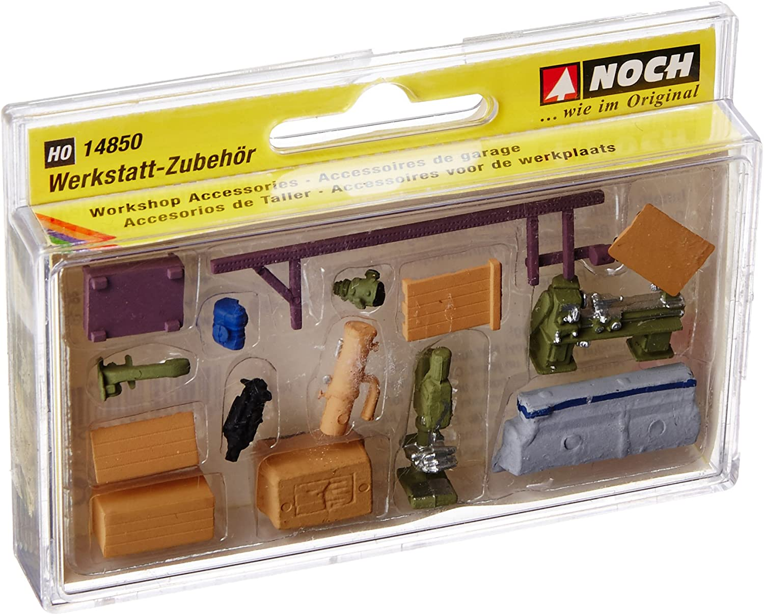 Noch 14850 Workshop Accessories H0 Scale Model Kit