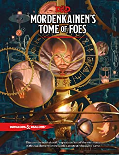 D&D MORDENKAINEN`S TOME OF FOES (Dungeons & Dragons)
