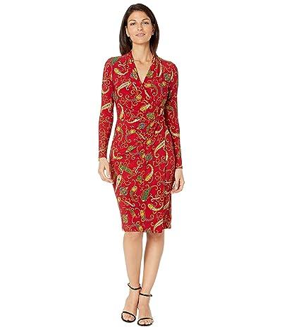 LAUREN Ralph Lauren Faria Dress (Lakehouse Red/Blue/Multi) Women