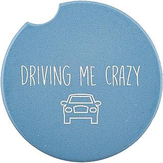 SB Design Studio SIPS Ceramic Car (Console) Coaster, Driving Me Crazy