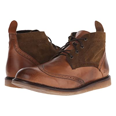 Bed Stu Capacity (Tan Glove/Tan Suede Leather) Men