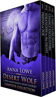 Desert Wolf: Complete Collection: 4 Twin Moon Ranch Short Stories (The Wolves of Twin Moon Ranch)