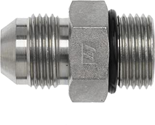 Brennan Industries 6400-03-03-O-SS Stainless Steel Straight Tube Fitting, 3/8