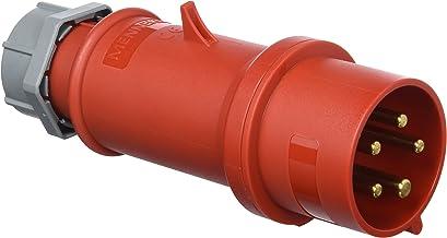 Mennekes 101200154 jack EWG Pro Top, stopcontact, 400 V, 50-60 Hz, 32 A, 5-polig, IP 44, rood