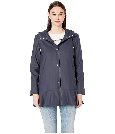 Kate Spade New York Peplum Raincoat