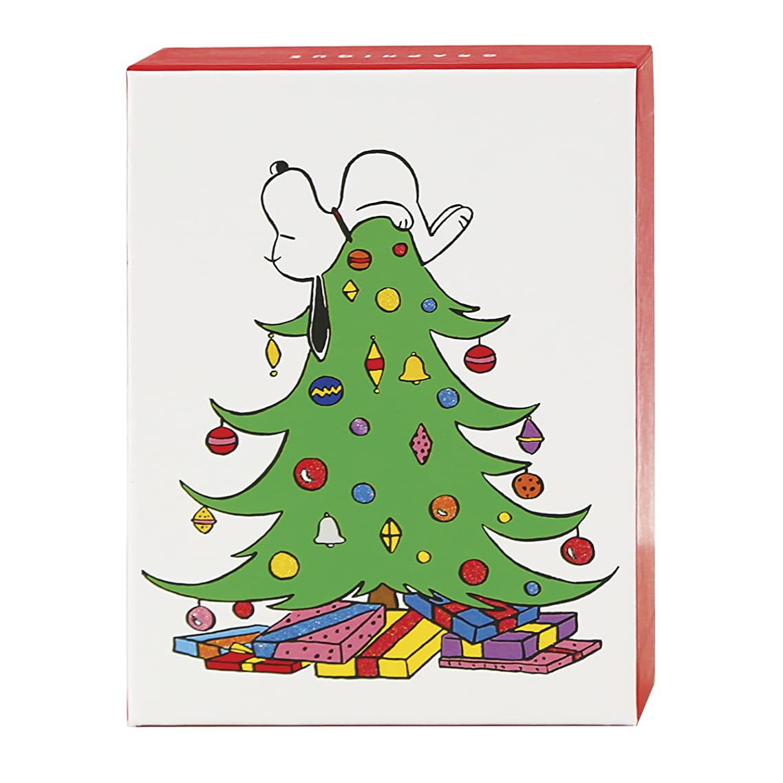 Graphique Peanuts Tree Petite Assorted Boxed Cards (BH203)