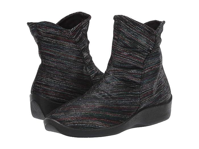 Arcopedico  L19 (Black Multi) Womens Zip Boots