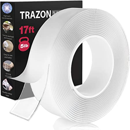 1pc 8mm//10mm Double Sided Faced Strong Adhesive Tape School Supplies For L0R7