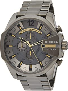 Diesel Mens Quartz Watch, Chronograph Display and Stainless Steel Strap DZ4466