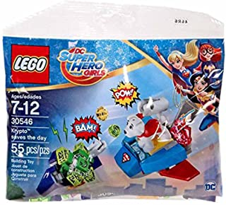 Lego Super Hero Girls Krypto Saves the Day