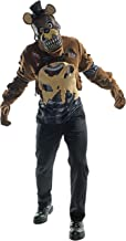 Rubie's Costume Co. Men's Five Nights Deluxe Nightmare Freddy Costume