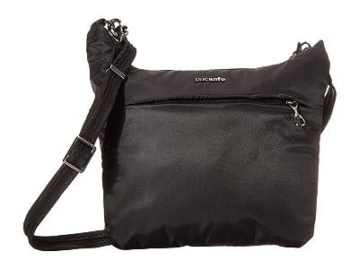 Pacsafe Cruise On The Go Crossbody (Black) Handbags