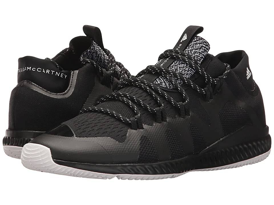 adidas by Stella McCartney CrazyTrain Bounce Mid (Core Black/Core Black/Footwear White) Women