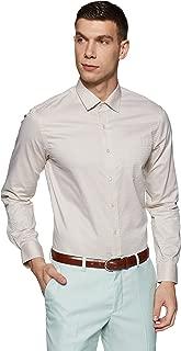 Arrow Men's Checkered Slim Fit Formal Shirt