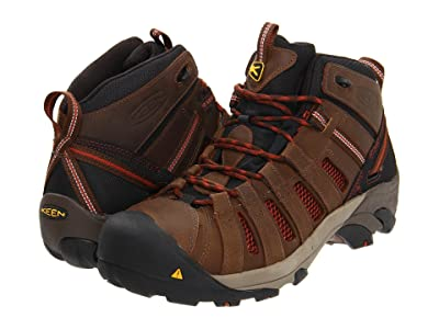 Keen Utility Flint Mid (Slate Black/Burnt Henna) Men