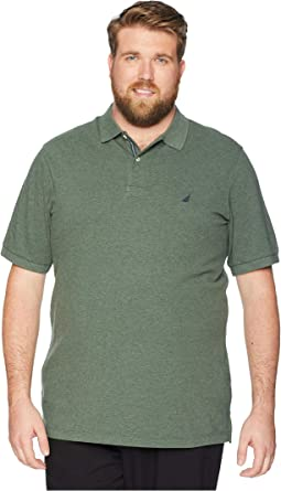 Big & Tall Short Sleeve Solid Deck Shirt
