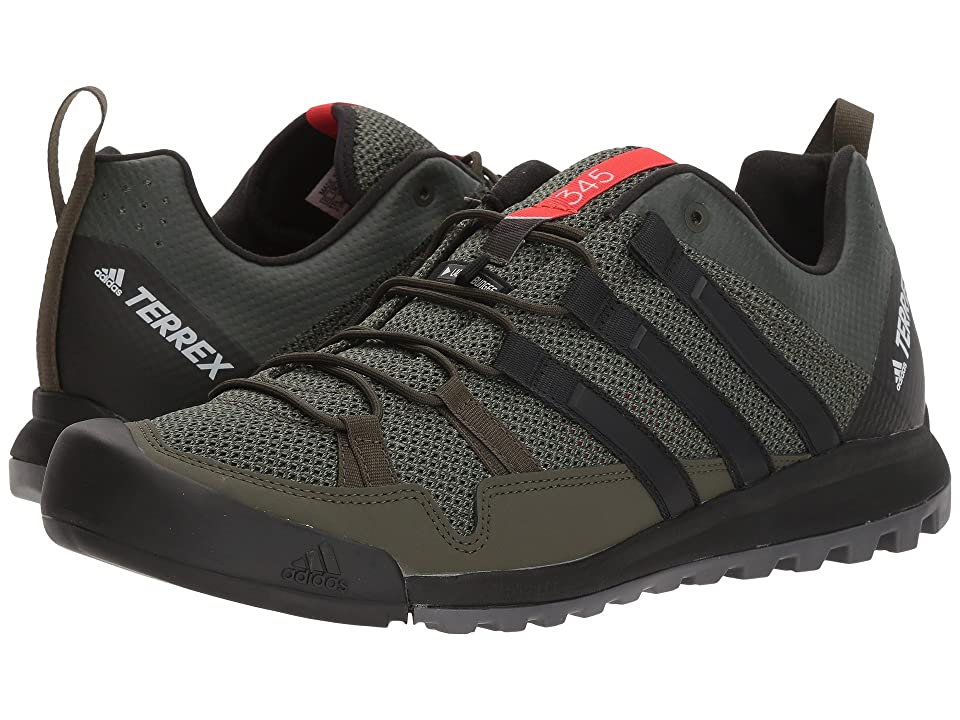 adidas Outdoor Terrex Solo (Night Cargo/Core Black/Base Green) Men's Climbing Shoes