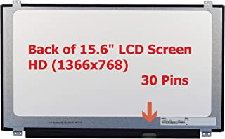"Fullcom New 15.6"" HD WXGA Laptop LCD LED Screen Glossy Compatible with Acer Aspire ES 15 ES1-572-31KW"
