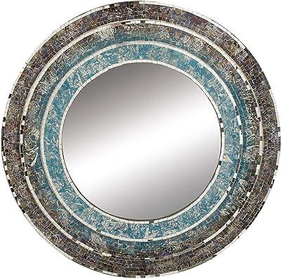 bf3a6c7530 Amazon.com  Retro Rewind Oversized Wall Mirror in Wayfarer ...