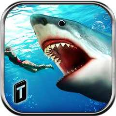 Awesome 3d Sea and beach environment Animated ferocious Great White Shark Animated Aquatic animals including Shark, Orca, Whale, Dolphin, Jellyfish and more. Exciting killing missions Magical underwater environment and effects. Smooth game play and e...