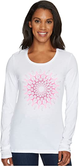 Columbia Tested Tough in Pink Medallion Long Sleeve Tee