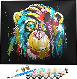 Peinture par numéros,Kits de Peinture par numéro,kit de peinture acrylique pour adultes ou débutants,Diy peinture à l'huil...