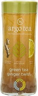 Argo Tea Iced Tea, Green Tea Ginger Twist, 13.5 Ounce (Pack of 12)