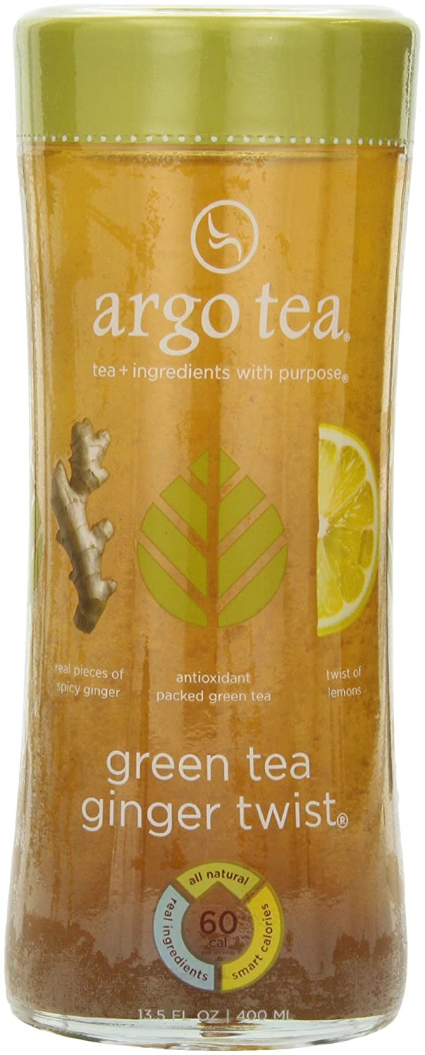 High material Ranking TOP11 Argo Tea Iced Green Ginger Twist of Ounce Pack 1 13.5
