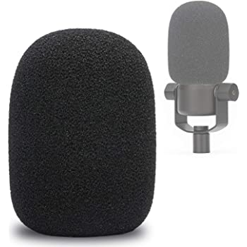 PodMic Pop Filter Foam Cover - Mic Windscreen Wind Cover Customized for Rode PodMic Podcasting Microphone to Blocks Out Plosives