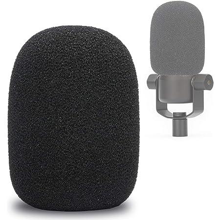PodMic Pop Filter – Protezione in schiuma contro il vento per microfono, per Rode PodMic Podcasting, per bloccare i batteri