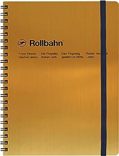 デルフォニックス ロルバーン ポケット付メモ [リング式/切離しミシン目付き] (横168×縦216×厚み17mm) メタリック A5 ゴールド NRP16-GO