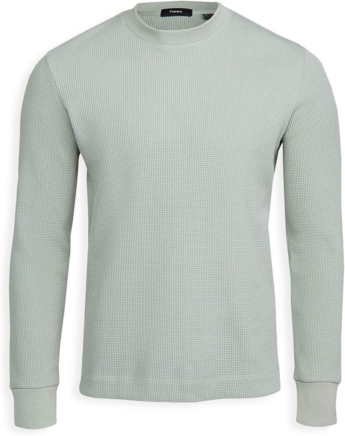Theory Men's 情熱セール Mattis 1着でも送料無料 Pullover Waffle Knit Cotton in