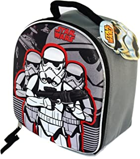 Star Wars EP7 Storm Trooper Dome Shaped Lunch Bag With Molded Front