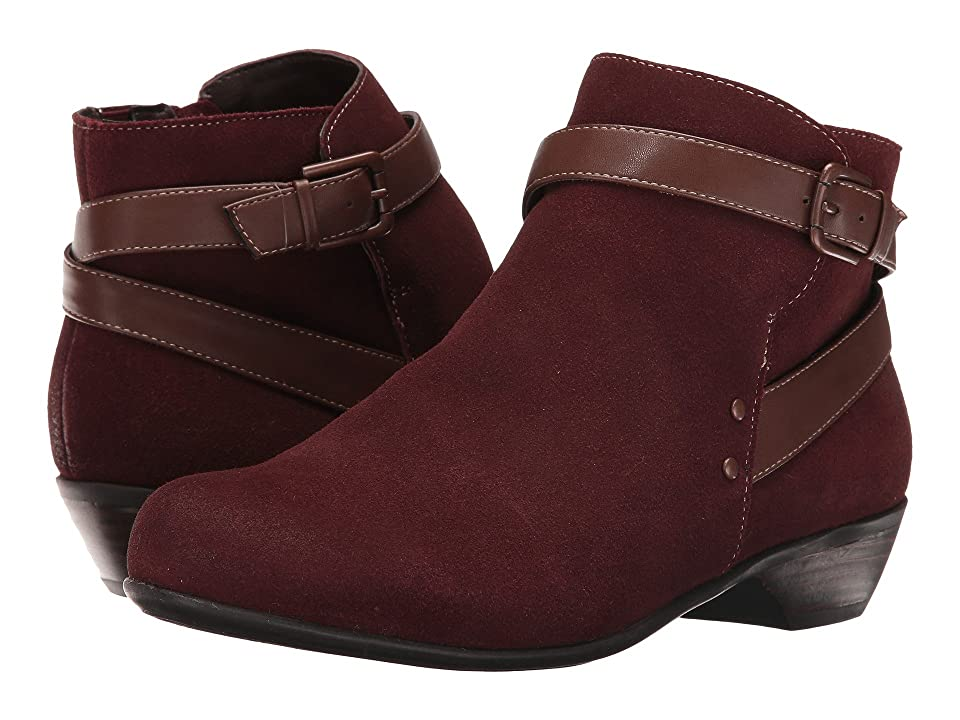 Comfortiva Ryder (Berry/Drum Brown) Women