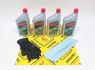 Honda Genuine ATF DW-1 Transmission Fluid Change Kit, 4 U.S.Qt/946ml w/Drain Plug Washer