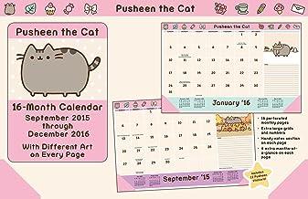 Pusheen the Cat 2015-2016 Calendar
