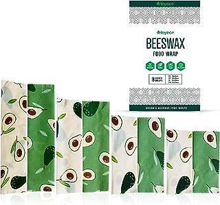 Beeswax Wraps | Set of 8 | Eco Friendly | Sustainable | Reusable Food Wraps | Biodegradable Zero Waste Plastic Free Food S...