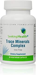 Seeking Health   Trace Minerals Complex   Trace Mineral Supplement   Includes Horsetail Extract   30 Vegetarian Capsules