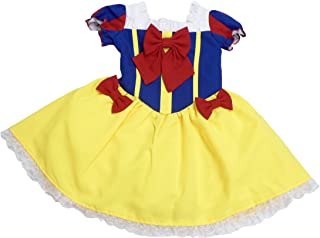 天使のドレス屋さん オリジナル白雪姫 ワンピース テーマパーク ハロウィン 衣装 子供 コスプレ コスチューム 子供服 女の子 ハロウィン キッズドレス