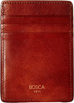 Bosca Dolce Collection - Deluxe Front Pocket Wallet