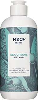 Body Wash, Sea Greens Cleansing Body Wash by H2O+ Beauty, with Aloe and Vitamin E, 12.2 Ounce