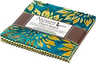 Lunn Studios Artisan Batiks Summer Flowers Charm Square 42 5-inch Squares Robert Kaufman CHS-832-42