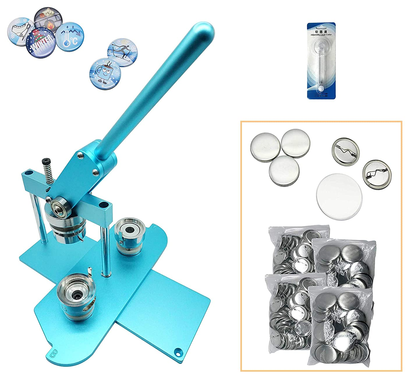 ChiButtons Button Maker Kit 37mm (1 1/2