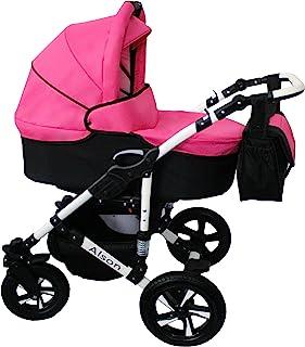 Cochecito bebe 3 piezas X-Trall BBtwin carro trio (rosa +
