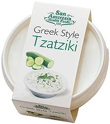 San Amvrosia Health Foods Greek Style Tzatziki, 114 g