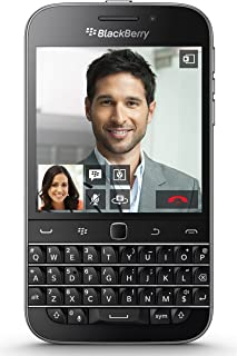 BlackBerry Classic SQC100-2 AT&T Unlocked 4G LTE Android Cell Phone - Black