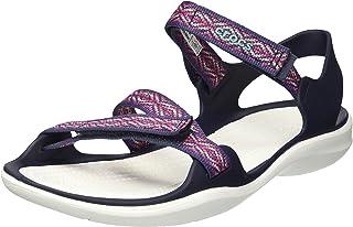 Crocs Women's Swiftwater Graphic Webbing Sandal